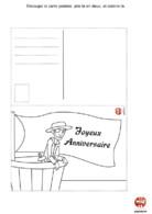 Anniversaire Pirate : carte joyeux anniversaire