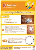 Fiche bricolage bracelet - Fête des grands-mères