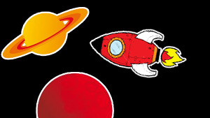 Coloriage Espace