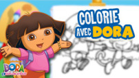 Jeu Dora L&#039;Eploratrice : Colorie Avec Dora