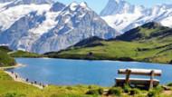 Coloriage Vacances à la montagne