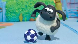 Timmy joue au foot dans Voici Timmy