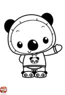 Tolee en panda