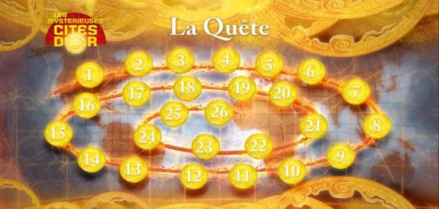 La quête des Cités d'Or - Episode 1