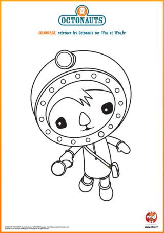 Imprime vite ce coloriage gratuit de Chellington sur TFou.fr. Shellington est un aventurier du dessin animé pour les petits appelé les Octonauts. Shellington est scientifique en biologie marine. Il parcourt les fonds des mers dans l'Octocapsule accompagné de ses amis pour explorer d'incroyables paysages sous-marins. Il entre en action dès qu'il se passe quelque chose dans la mer et n'hésite pas à aider les extraordinaires et étranges créatures qui en ont besoin. Amuse-toi bien avec ce coloriage à imprimer !
