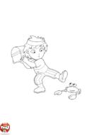 Diego le pirate et le crabe