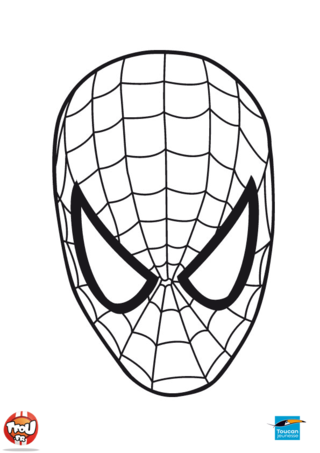 Coloriage spiderman imprimer gratuit - Dessiner spiderman ...