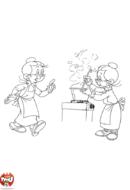 Prudence à la cuisine