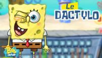 Bob L'eponge Le Dactylo