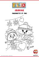 Choupinette et Ping_Tfou_Julius_coloriages