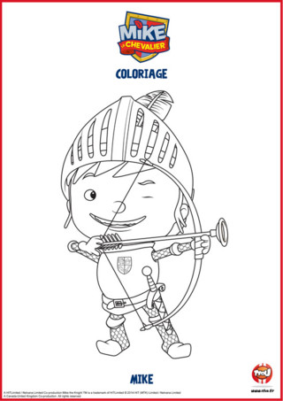 Mike le chevalier apprend à devenir un vrai chevalier. Pour cela, il faut savoir utiliser un arc et bien viser. Imprime gratuitement et colorie le coloriage de Mike le chevalier avec son arc sur TFOU.fr. Retrouve aussi un max de coloriages Mike le chevalier sur TFOU.fr.