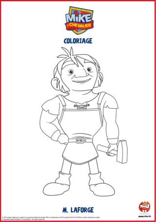 Connais-tu M Laforge du dessin animé Mike le coloriage ? Découvre-le en coloriage sur TFOU.fr. Retrouve aussi tous les coloriages et activités Mike le chevalier à imprimer gratuitement sur TFOU.fr.
