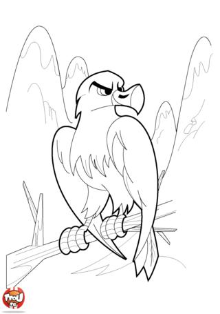 Coloriage: Aigle