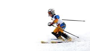 Coloriage Ski