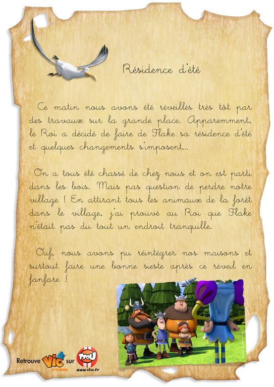 Carnet de bord vic_Residence d'ete_en ligne