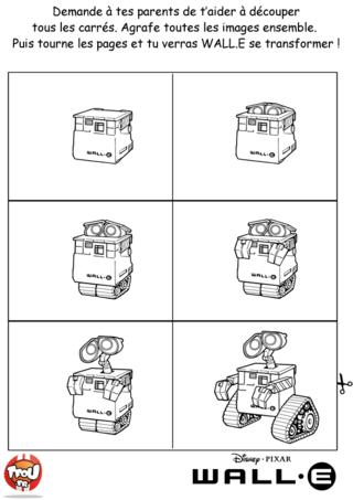 Coloriage: Petit Cahier animé