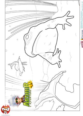 Coloriage: Décors Arthur