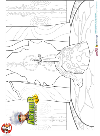 Coloriage: Arthur décors 2