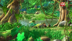 Le festin des crocodiles - Le livre de la jungle