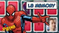 Jeu Spiderman : Le memory