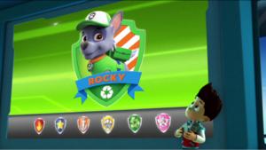 Intro Rocky - Paw Patrol