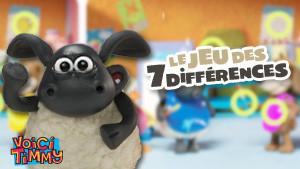 Jeu Timmy : les 7 différences