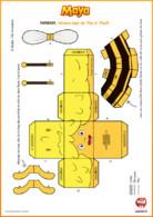 Papertoy - maya l'abeille