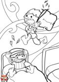 Bataille de polochons