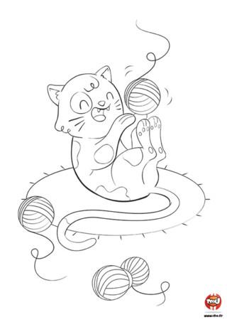 Pin coloriage aquarium jeux de fille gratuit on pinterest - Jeux de coloriage de chat ...