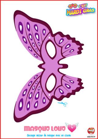 Si toi aussi tu as envie de défendre ta tribu Love pour Mardi Gras? Alors imprime vite ce masque de la tribu Love offert par TFou ! Colorie-le comme tu le souhaites et porte-le pour Mardi Gras !