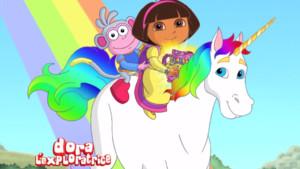 Dora au secours du pays des contes de fée sur TFou