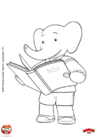 Badou aime lire