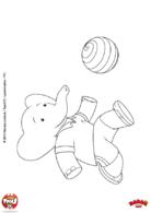 Badou et son ballon