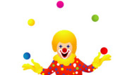 Coloriage jongleur