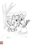 La chèvre et le coq