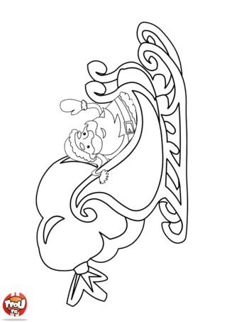 Coloriage : Imprime vite ton coloriage du Père Noël et son traineau sur TFou.fr ! Amuse-toi à colorier et à mettre plein de couleurs sur le père Noël et son traineau. Plein d'autres coloriages de Noël t'attendent sur TFou.fr. Si tu as été sage cette année, le père Noël ne t'as pas oublié. Viens colorier ton super coloriage et profite en pour les offrir à tes amis et à ta famille pour Noël. Le savais-tu ? Tu gagnes des points TFou en imprimant des coloriages sur TFou.fr. Alors cours vite imprimer tes coloriages de Noël. Joyeux Noël sur TFou.fr !