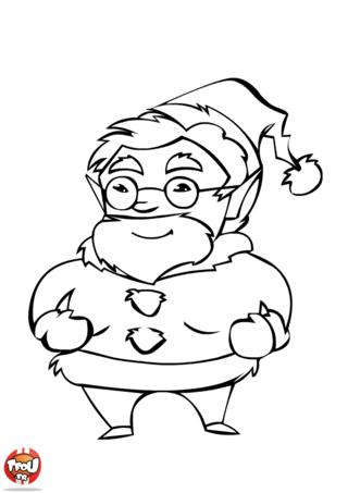 Coloriage: C'est bientôt Noël