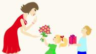 Coloriage Fête des mères