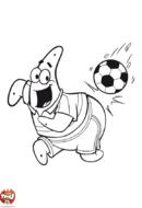 Patrick au foot