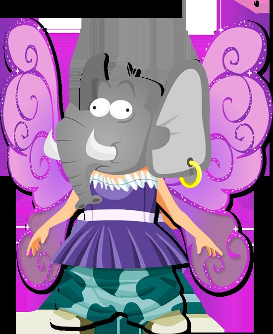 Avatar - Transformation : Tête d'éléphant