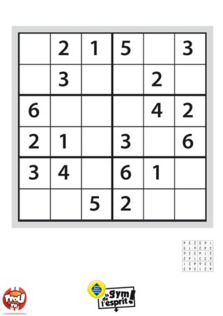Coloriage: Sudoku Grille 4