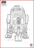 Coloriage - R2-D2