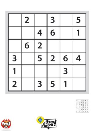 Coloriage: Sudoku Grille 9