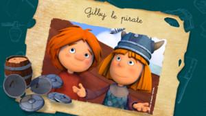 vignette vic le viking- Gilby le pirate