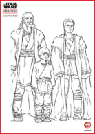 Coloriage - Les Jedi