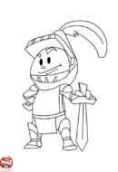 Le chevalier et son épée