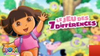 Jeu Dora L&#039;Exploratrice : Les 7 Diffrences