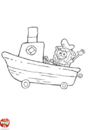 Bob l'éponge voiture bateau