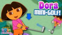 Jeu Dora L&#039;Exploratrice : Le Mini-Golf
