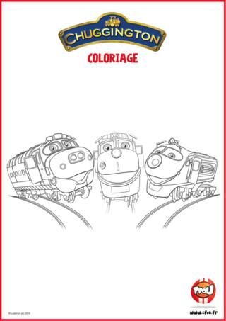 Retrouve tes locomotives Chuggington préférées à colorier ! Organise avec tous tes amis une après-midi coloriages et télécharge gratuitement tous les coloriages et activités des locomotives Chuggington sur TFou.fr